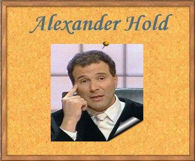 Alexander Hold Geschieden